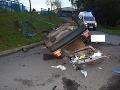 FOTO Meninová tragédia vo Zvolene: Mareka (†25) pri nehode zavalilo auto, nemal žiadnu šancu