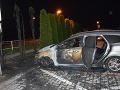 FOTO Polícia vyšetruje nočný