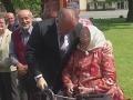 Andrej Kiska a babička
