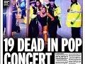 Dychberúce titulky britských médií: Teroristický útok, FOTO masaker nevinných detí