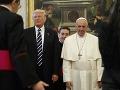 Donald Trump a pápež František
