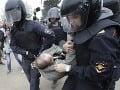 Ruské celoštátne televízie opäť neinformovali o protivládnych protestoch
