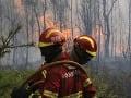 Portugalskí hasiči sa usilujú