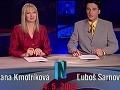 V roku 2004 začínala Adriana Kmotríková v televízii Joj po boku Ľuboša Sarnovského.
