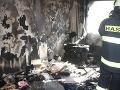 FOTO z útrob pekla: Požiar v 8-poschodovom paneláku na českom sídlisku, deväť zranených