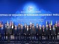 Predsedovia parlamentov euroázijských krajín,