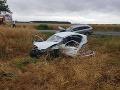 Prekliaty prvý deň prázdnin: Ďalšia hrozivá nehoda, autá na šrot, so zranenými pomáhal vrtuľník