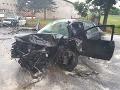 S vážnymi nehodami sa dnes roztrhlo vrece: Čelná zrážka v okrese Levice, medzi zranenými sú deti