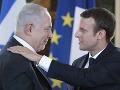 Macron vyzval na nové izraelsko-palestínske rozhovory: Židovské osady mieru neprospievajú