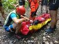 FOTO Dráma v Slovenskom raji: Do rokliny spadol chlapček (7), okamžitý zásah záchranárov