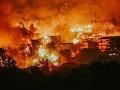 Ničivé požiare v Chorvátsku: Horí už aj pri obľúbenej Makarskej
