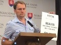VIDEO Matovič po dlhom čase opäť na tlačovke a hneď útočí: Utopili by ma v kvapke vody