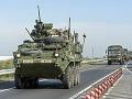 Budúci týždeň si na cestách dajte pozor: Cez Slovensko budú opäť prevážať vojenskú techniku
