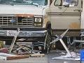 Panika v Los Angeles: FOTO Dodávka vrazila medzi chodcov