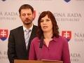 Remišová v tom má jasno: VIDEO Vláda nerieši problém s eurofondmi, vyzýva Fica a Bugára