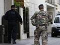 Nové informácie o útoku na vojakov v Paríži: Podozrivým je Alžírčan (37) žijúci vo Francúzsku