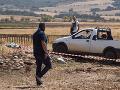 FOTO Vražedný útok mafie v Taliansku: Svedkov prenasledovali a zastrelili