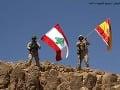 Pekné gesto libanonských vojakov: Po víťazstve nad Daeš vztýčili španielsku zástavu za Barcelonu