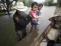 Ulice Houstonu po prívalových
