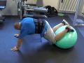 Peter zhadzoval nadbytočné kilogramy cvičením.