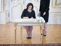 Slovensko má oficiálne novú ministerku školstva: Kiska vymenoval Martinu Lubyovú