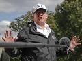 Chvályhodné konanie Donalda Trumpa: Navštívil hurikánom spustošenú Floridu