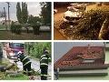 Ničivé búrky napáchali na Slovensku mnoho škôd: Ľudia sa obracajú na poisťovne