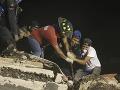 Z trosiek po zemetrasení v Mexiku vytiahli posledné známe telo