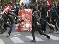 FOTO Búrlivá vlna protestov vo Francúzsku: Za všetko môže sporná novela zákonníka práce