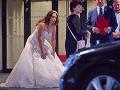Katarína Hasprová sa v sobotu vydala.