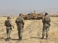 Tureckí vojaci na hranici
