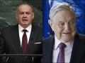 Kiska potvrdil stretnutie s kontroverzným podnikateľom Sorosom: Prezradil, o čom sa rozprávali