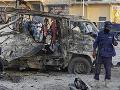 Výbuch bomby v Mogadiši