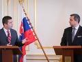 Danko a Hamáček sa stretli v Bratislave: Hovorili o bezpečnosti aj slobode na internete