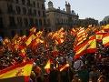 Protest za spoločné Španielsko: VIDEO Historicky najväčšia demonštrácia, vráťme sa k rozumu!