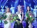 Zľava: 1. vicemiss Universe SR 2017 Frederika Samuelová, Miss Universe SR 2017 Vanessa Bottánová, 2. vicemiss Universe SR 2017 Patrícia Budaiová.