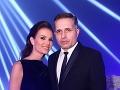 Riaditeľka Miss Universe SR Silvia Lakatošová s manželom Pavlom Chovancom.
