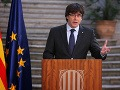 Puigdemont kritizuje európskych politikov: Elity záujmy a práva ľudu nezaujímajú