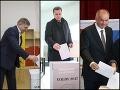 Robert Fico, Andrej Danko a Andrej Kiska