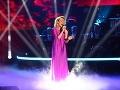 Počas galavečera vystúpila aj herečka Mirka Partlová s obľúbenou piesňou jej mamy Somewhere over the rainbow.