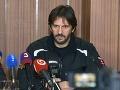 Robert Kaliňák na mimoriadnej tlačovej konferencii v Poprade.