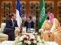 Macronova návšteva Saudskej Arábie: Chce bojovať proti terorizmu