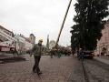 FOTO Košičania dostanú vianočný stromček od súkromnej osoby - osadia ho v nedeľu
