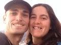 Justin Rey s manželkou