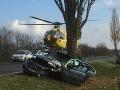 FOTO Vážna nehoda Slováka (22) v Rakúsku: Brutálna zrážka so starčekom (84) na mercedese