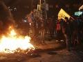Stovky rozhnevaných Palestínčanov protestovali v pásme Gazy proti uznaniu Jeruzalema