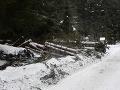 Mimoriadna situácia: Na severe Slovenska úraduje orkán, uzatvorené cesty, ľudia bez elektriny