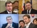 Politici hodnotia tento rok: Danko nabral skúsenosti, Matovič chystá zmeny, Smer padol
