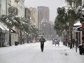 Obyvatelia Floridy zostali poriadne prekvapení: Nasnežilo po prvý raz od roku 1989