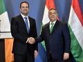 Írsky premiér Varadkar sa stretol s Orbánom: EÚ bude silná len v takomto prípade